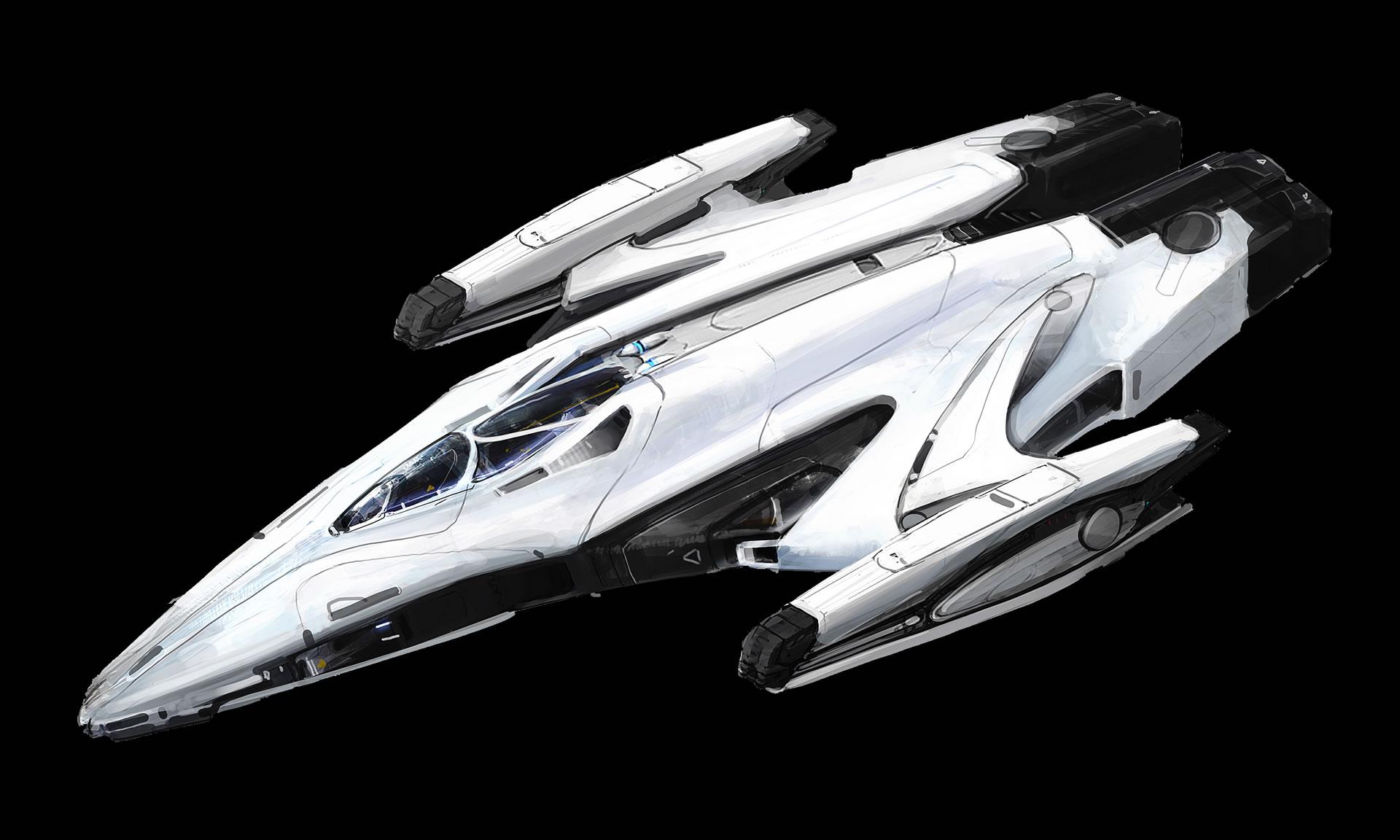 Imperial courier concept art : EliteDangerous